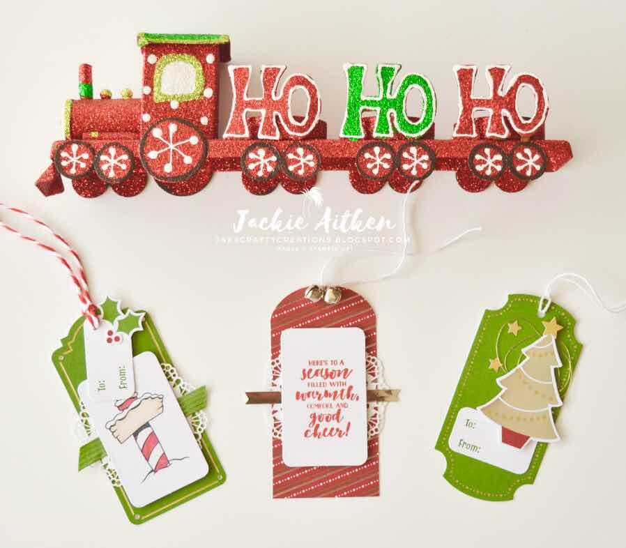 Stampin' Up!, Sincerely Santa Kit, Christmas Gift Tags,