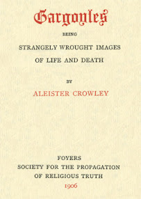 Cover of Aleister Crowley's Book Gargoyles