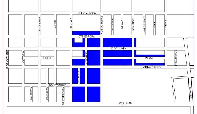Habrá corte de luz este viernes en un sector de Barrio La Paloma