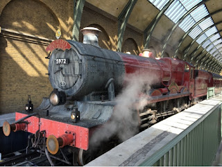 The Hogwarts Express at Platform 9 3/4~~