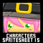 Witch Character Spritesheet
