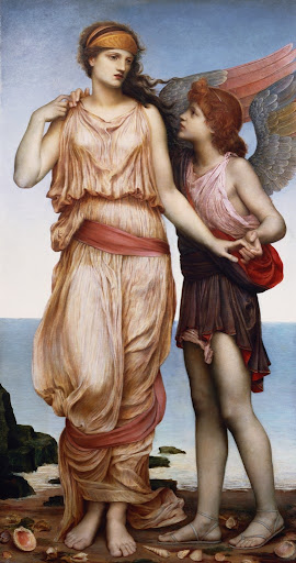 Evelyn De Morgan - Venus and Cupid