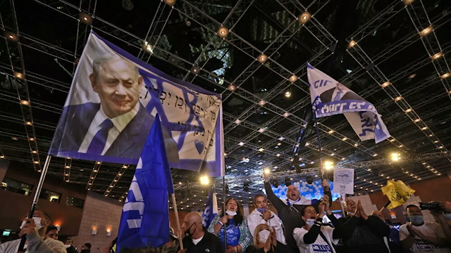 """Ισραήλ: Ο Νετανιάχου υποστήριξε ότι πέτυχε μια """"μεγάλη νίκη"""" στις εκλογές"""