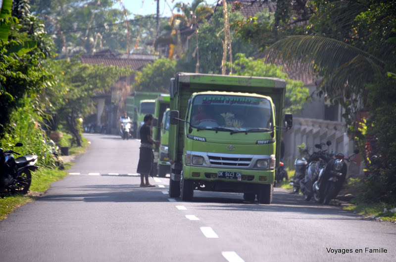 Tax for trucks along the road