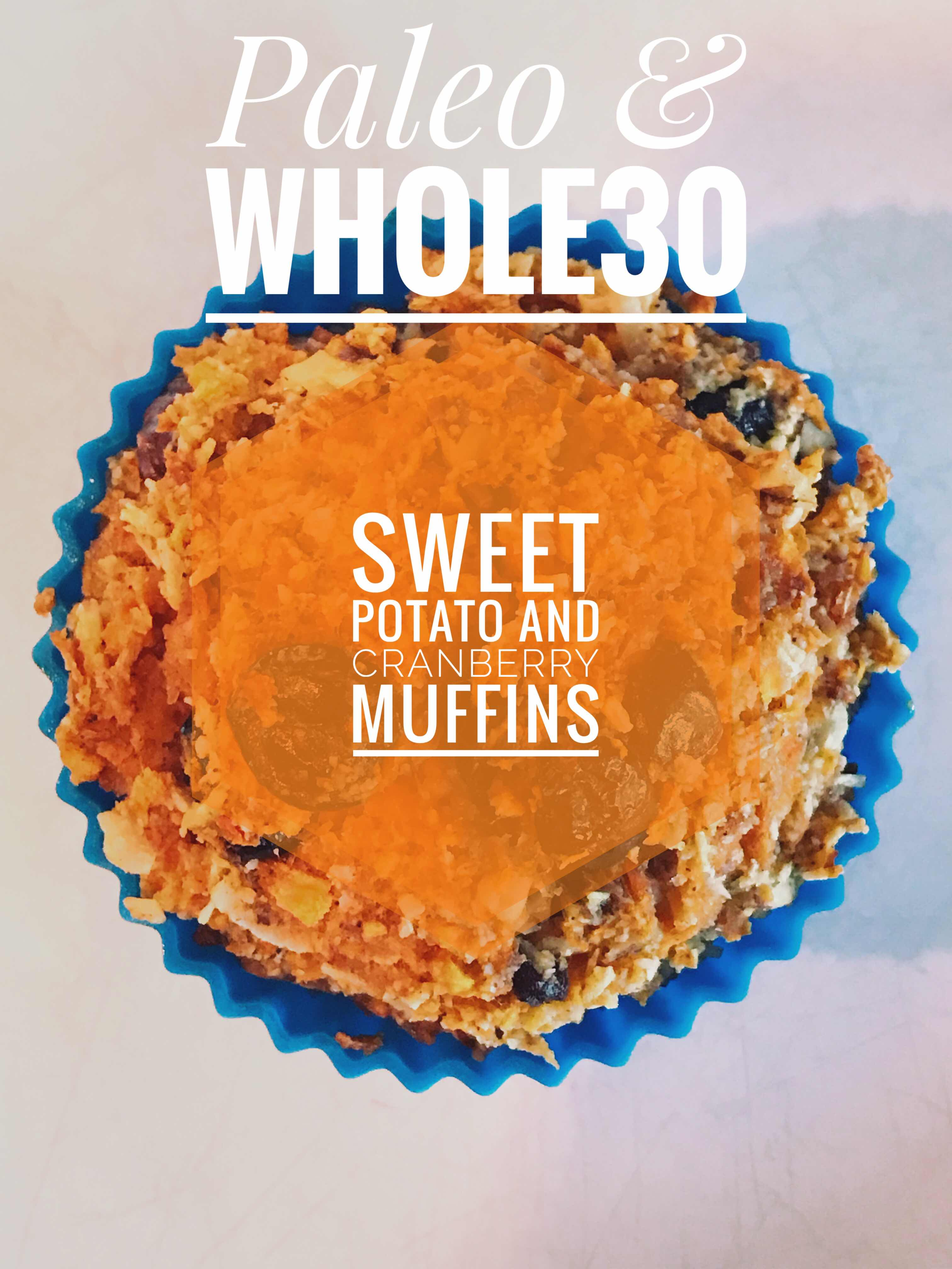 Sweet Potato and Cranberry 'Muffins'