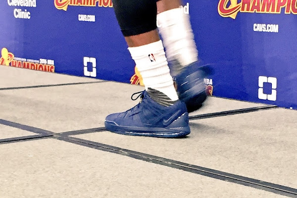 LeBron Brings Back the Zoom LeBron III Low on Cavs Media Day