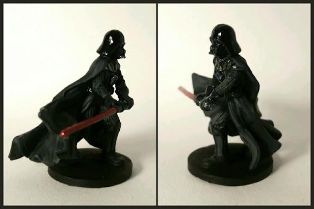 Darth Vader pintado por Xela