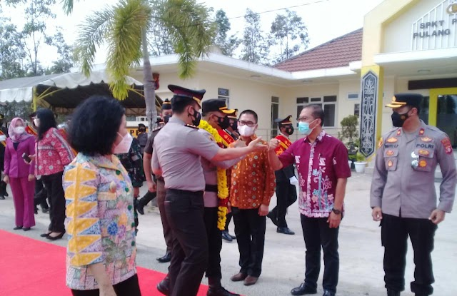 Gantikan AKBP Yuniar, Kurniawan Hartono Resmi Menjabat Kapolres Pulang Pisau