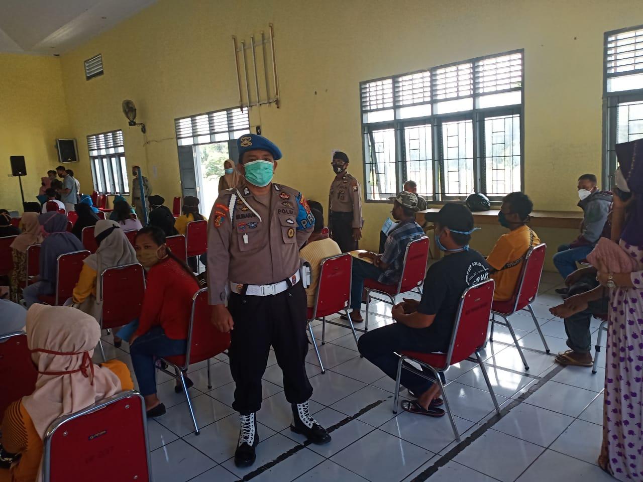 Kapolres Soppeng Instruksikan Kapolsek Jajaran Laksanakan Pengamanan Penyaluran BST