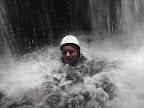 Massage par la chute d'eau.