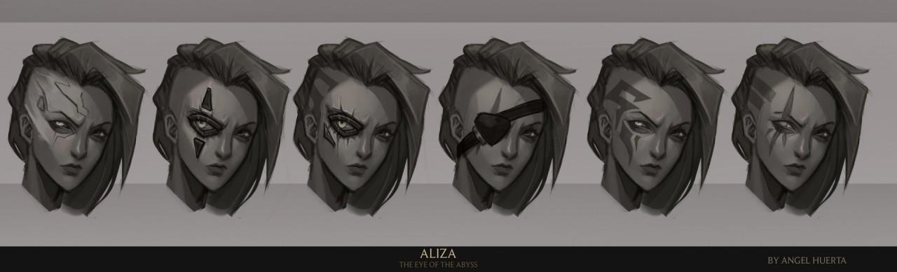 Những tha thu trên gương mặt của Aliza