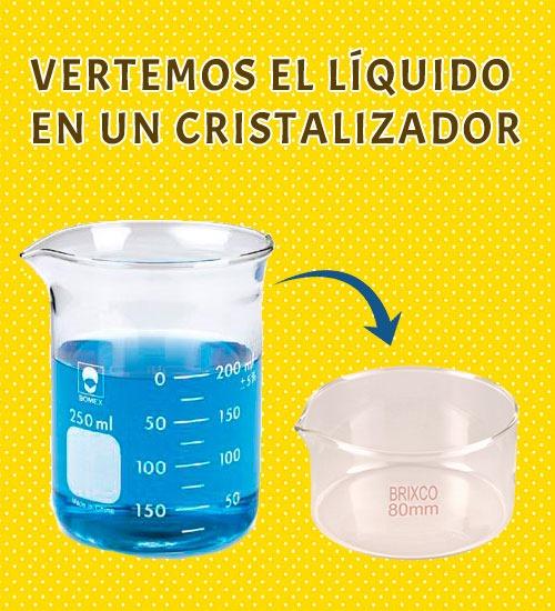separacion sulfato de cobre agua