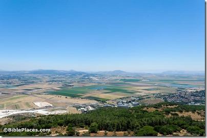 Jezreel Valley from Muhraqa, tb061216339