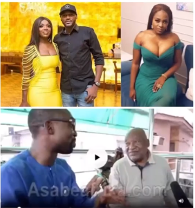 Video of Pero Adeniyi's father saying she is married to Tuface shared online (video)