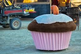 cupcake art car
