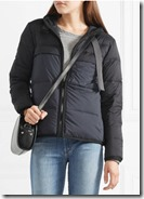 James Perse Quilted Shell Down Jacket