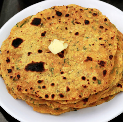 Mooli Paratha Recipe | Indian Radish Tortillas without Stuffing - Punjabi Mooli ke Parathe recipe by Foodomania.com