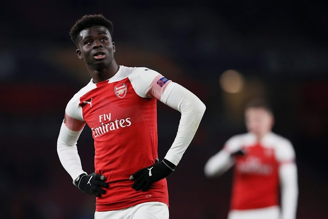 BREAKING: Bukayo Saka not allowed in Arsenal first-team dressing room despite rapid rise