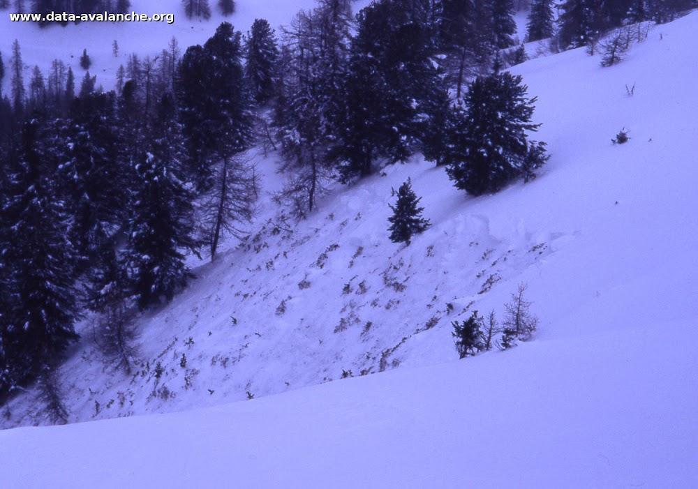 Avalanche Mont Thabor, secteur Punta Bagna, couloir du Seuil - Photo 1