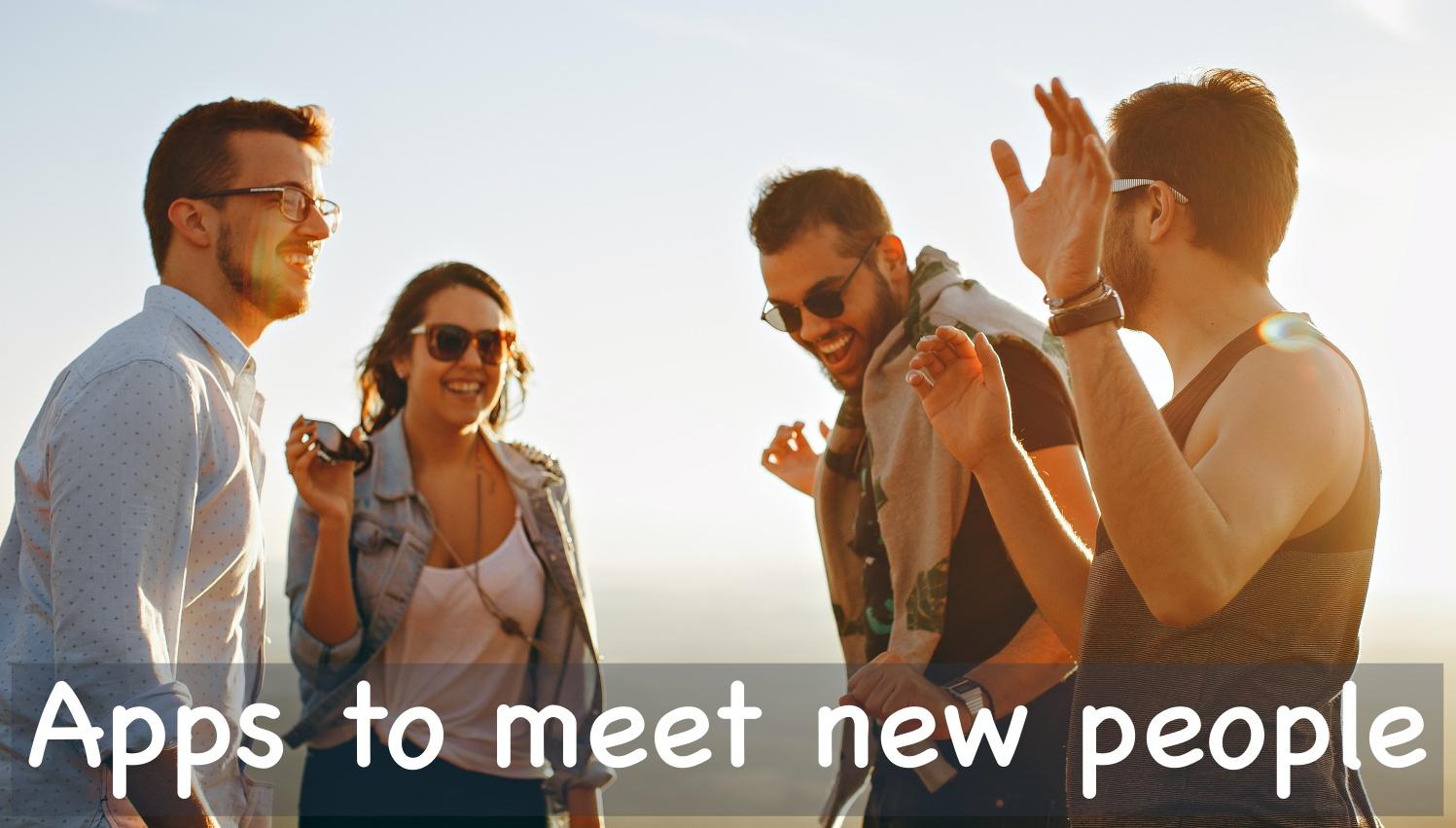 Best iPhone  iPad Apps to Meet New People
