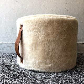 Ugg Australia Wool Pouf