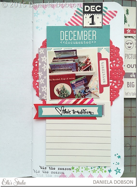 December documented 2015 Day 1 by Daniela Dobson