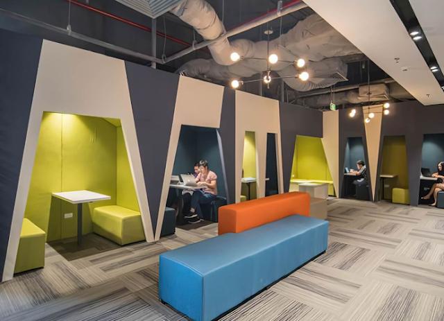 Mô hình sử dụng nội thất văn phòng