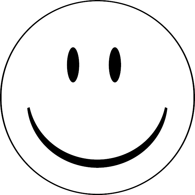 Blank Smileyface Coloring Pages