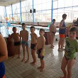 Třeťáci řádili na bazéně