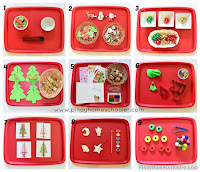 Christmas Themed Learning Activities for Toddlers