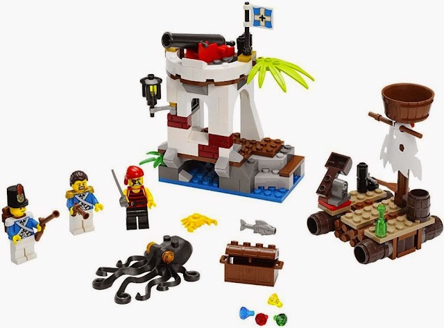 Đồ chơi Lego Pirates 70410 Bảo vệ Tiền đồn Soldiers Outpost