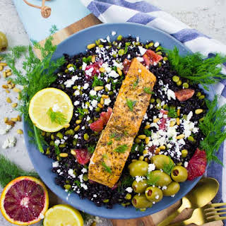 Salmon Fillet Salad Recipes.