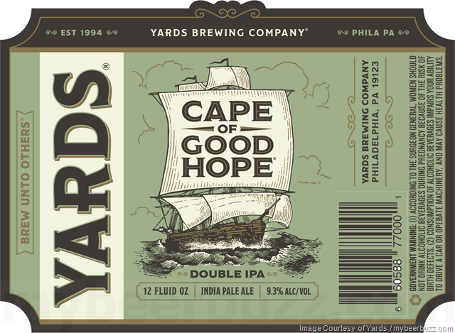 Yards Updating Cape Of Good Hope Packaging
