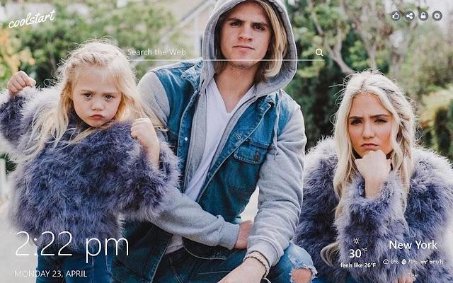 The Labrant Family HD Wallpaper Social Tab