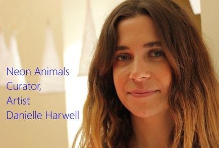 Neon Animals Curator, Artist Danielle Harwell