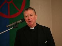 Beer Miklós váci megyéspüspök köszöntötte a konferenciát.JPG