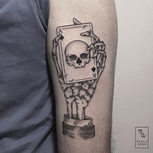 este_elegante_s_de_crnios_de_tatuagem