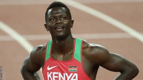 Mwanariadha wa Kenya aondolewa nje michuano ya Olimpiki