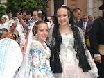 Procesion de la Virgen, Maria Auxiliadora y Santa Monica