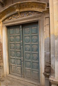One of doors in the front of Gurdawara