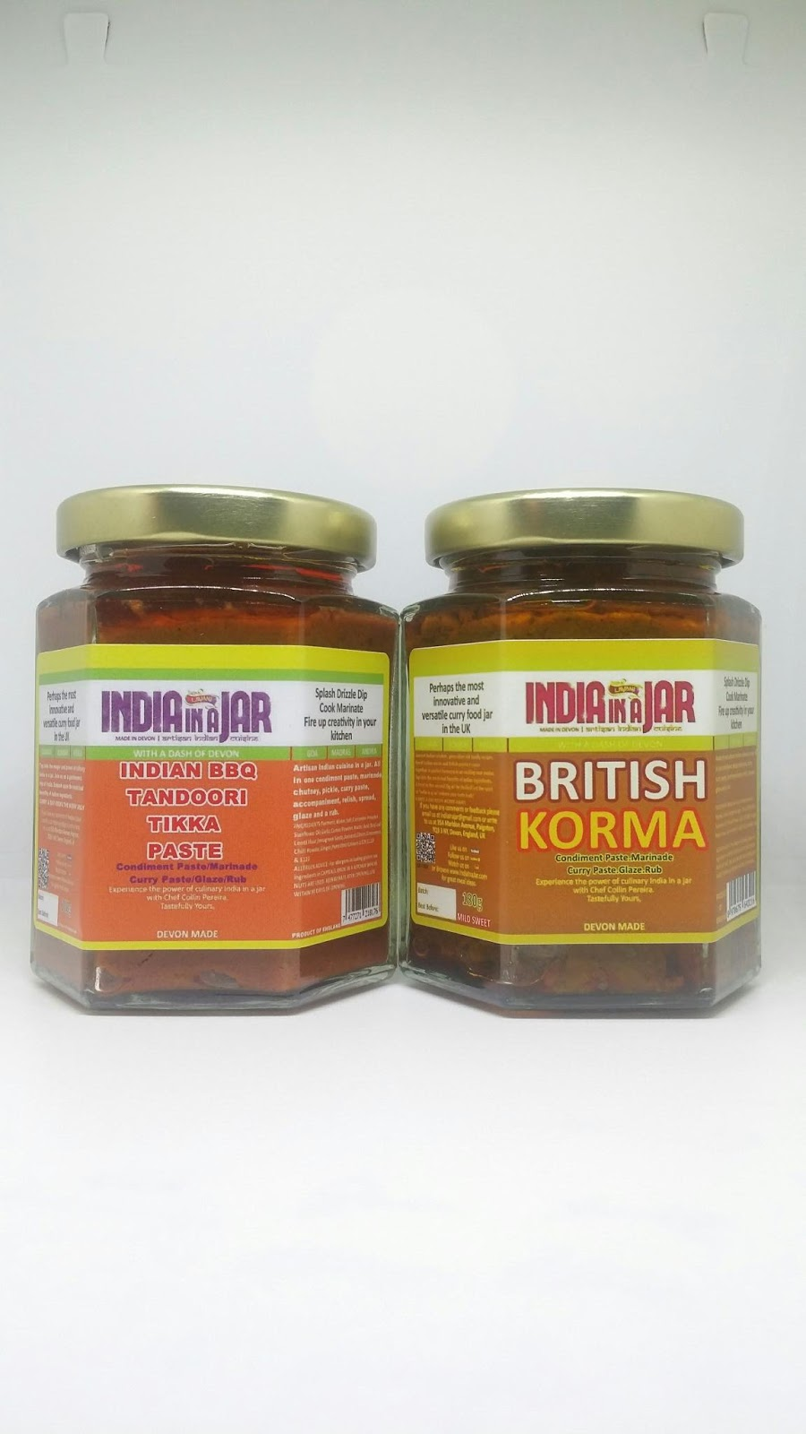 India in a jar with a dash of devon british korma paste with recipe tikka masala and korma recipes reinvent rediscover tikka masala korma with india in a jar om santi forumfinder Choice Image
