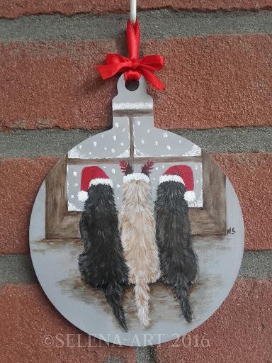 Kersthanger 3 cairns