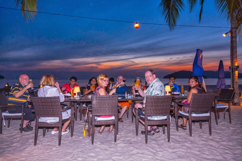 Sunset Dinner on the Beach