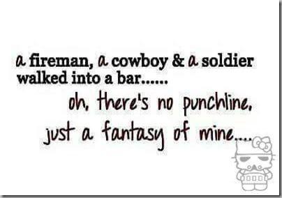 fireman cowboy soldier