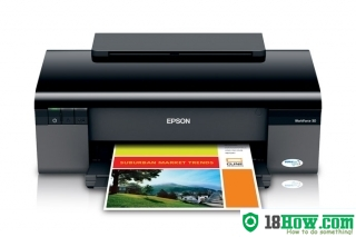 How to Reset Epson WorkForce 30 printing device – Reset flashing lights error