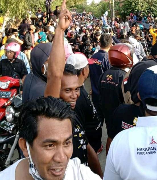 Ketua GGSM Rajiun Sebut Ribuan Warga Sambut Paslon RAPI di Watopute