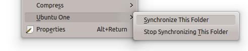 Ubuntu One in Dolphin - sincronizzazione