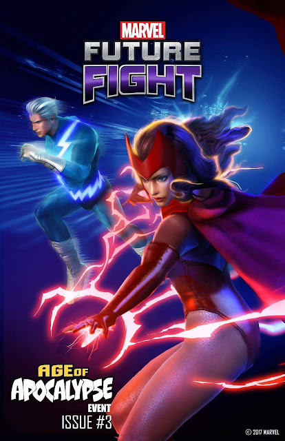 Marvel Future Fight Yeni Quicksilver ve Scarlet Witch Geliyor