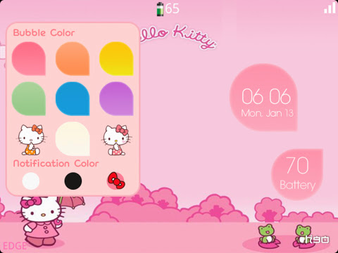 BubbleTheme - Special edition (9700/9780 OS6) Preview 2