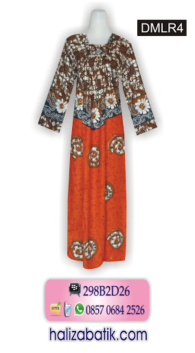 DMLR4 Busana Batik Wanita, Model Batik Modern, Batik Modern, DMLR4